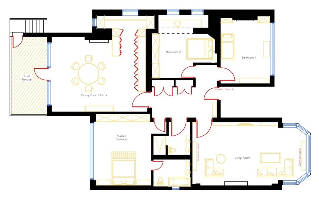 Interior design process how it works krikla for Apartment design process