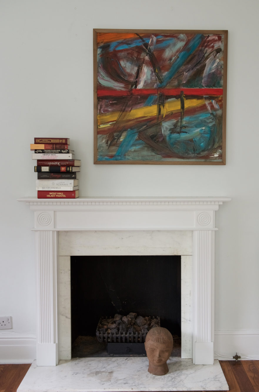 five ways to position art above fireplace blog krikla