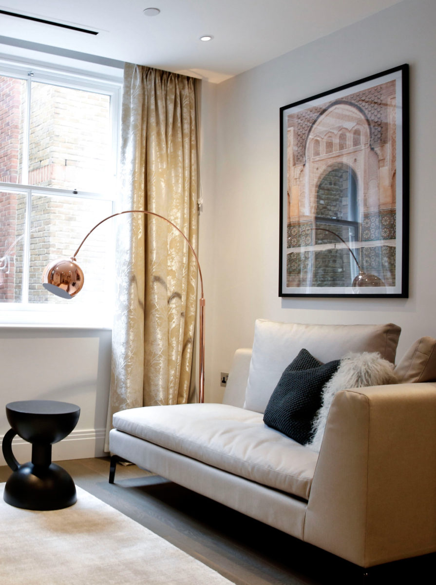 Interior design of apartment in Westminster, London by Krikla