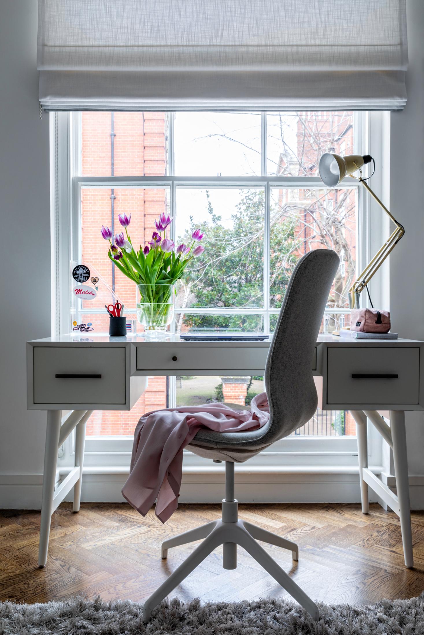 Girl's bedroom redesign by Krikla