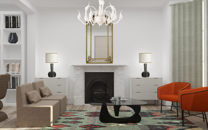 House in Putney, London by Krikla Interior Designers